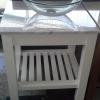 Lavatorios de apoyo de vidrio templado