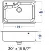 Pileta Simple Mi Pileta Encastrable mod 800-E